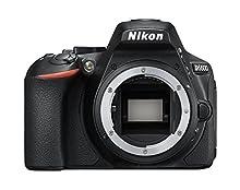 """Nikon D5600 - Cámara réflex de 24.2 MP sin objectivo (pantalla táctil de 3"""", Full HD) negro, versión europea"""