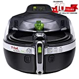 T-Fal YV960151 ActiFry 2 in 1 Air Fryer, Automatically Stirs, Black