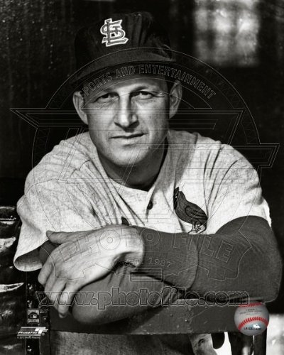 (Stan Musial St. Louis Cardinals 1960 Posed Photo 8x10)