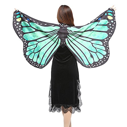 iLXHD Festival Props Butterfly Wings Shawl Scarves Nymph