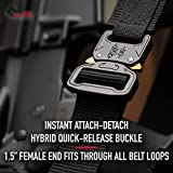 WOLF TACTICAL Heavy Duty Hybrid Quick-Release EDC