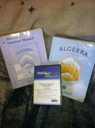 Student's Solutions Manual (Component) for Elementary Algebra for College Students
