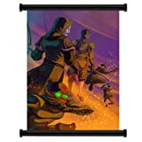 "Avatar: The Legend of Korra Cartoon Fabric Wall Scroll Poster (16"" x 24"") Inches"