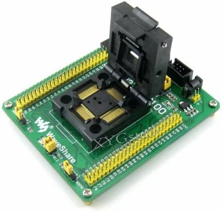QFP100 LQFP100 0.5mm pitch Program Programmer Programming JTAG SWD Port Yamaichi IC Test /& Burn-in IC51-1004-809 Socket Board Adapter @XYG F1 F2 F4 STM32-QFP100 STM32 STM32F