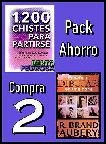Pack Ahorro, Compra 2: 1200 Chistes para partirse, de Berto Pedrosa & Enseña