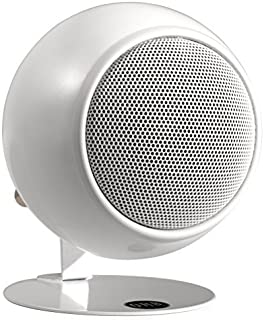 product image for Orb Audio Mod1 Stereo and TV Speaker, Single Pack with mod2 Upgrade Hardware - Pearl White Gloss