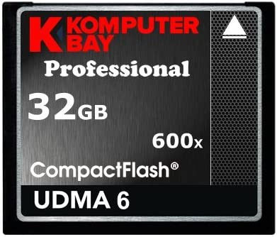 Komputerbay KB_32GB_COMPACTFLASH_600X - Tarjeta Compact Flash ...