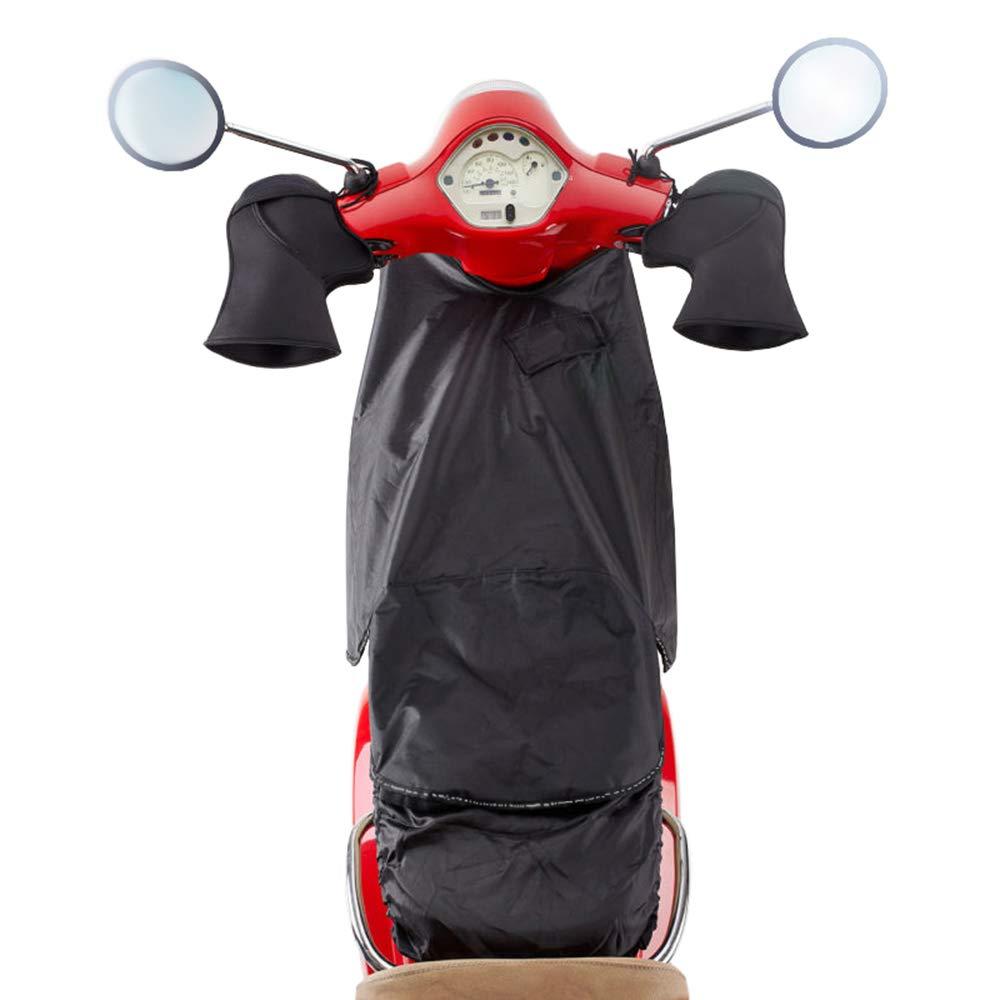 KKmoon Cubrepiernas Manta Moto,Cubre Piernas para Moto Scooter Impermeable A Prueba de Viento Delantal Moto