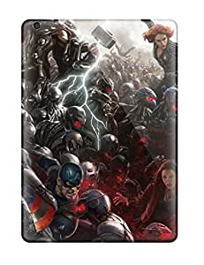 Jim Shaw Graff's Shop Waterdrop Snap-on Avengers Age Of Ultron Concept Art Case For Ipad Air