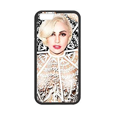 Generic Cell Phone Case for iPhone 6 Plus 5.5 Inch [Black] Lady Gaga [Custom] KA0296