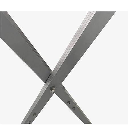 Amazon.com: Perchero de aleación de aluminio, doble polo ...