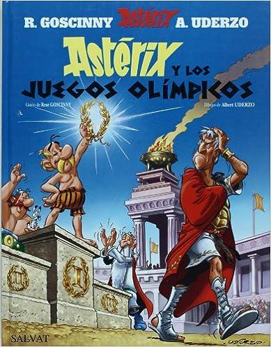 Télécharger des livres en ligne gratuitement en mp3 Asterix y los juegos olimpicos / Asterix and the Olympic Games PDF DJVU FB2