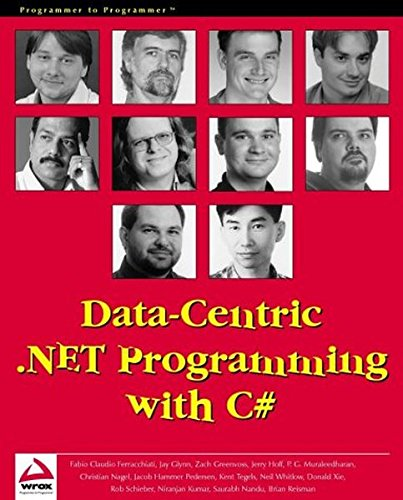 Data-Centric .NET Programming with C#