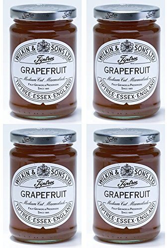 Grapefruit Spread - (4 PACK) - Tiptree - Grapefruit Marmalade | 340g | 4 PACK BUNDLE