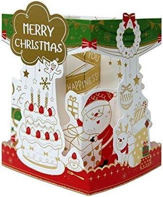 CffdoiHeka Christmas Card Holiday Ornaments Creative Design Holiday Ornaments