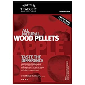 Traeger PEL313 Apple Barbecue Pellets