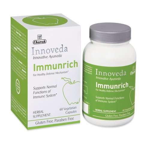 Innoveda Immunrich – Immunity Builder, Herbal Supplement for Immunity Health Support, 60 Capsules