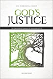 NIV, God's Justice Bible, Hardcover: The Flourishing of Creation and the Destruction of Evil