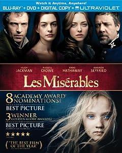 Les Miserables (Blu-ray + DVD + Digital Copy + UltraViolet) by Universal Studios