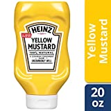 Heinz Yellow Mustard, 20 Ounce (Pack of 12)