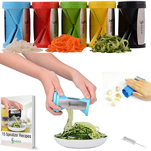 Kitofin Vegetable Spiral Slicer Spiralizer product image