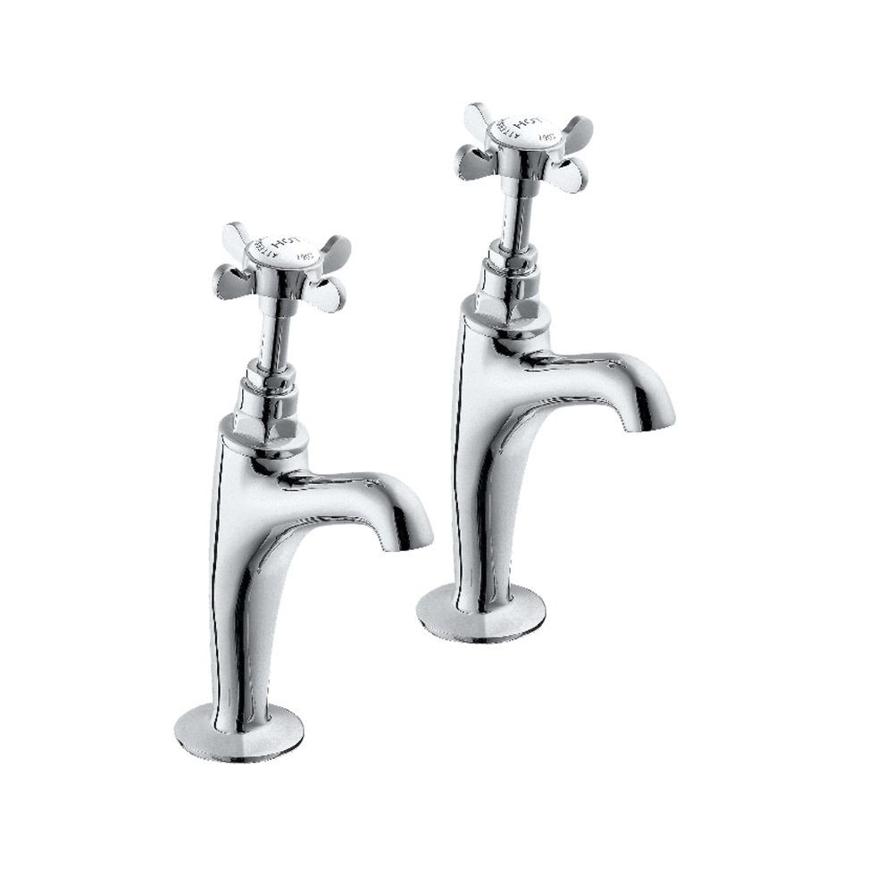 Deva CR27A Coronation High Neck Sink Tap with Chrome Finish Methven