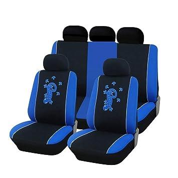 Neu Auto Sitzbezug Sitzbezüge Schonbezüge Komplett Satz blau für SAAB Suzuki VW
