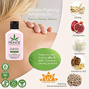 Hempz Pomegranate Herbal Body Moisturizer