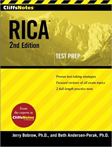 CliffsNotes RICA 2nd Edition (CliffsNotes (Paperback)): Beth ...