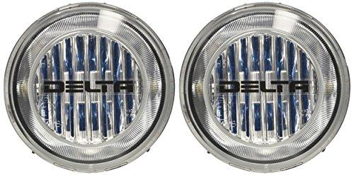 "Delta Lights (01-9039-50X) 46H Series 4.5"" Round Waterproof Bumper/Fascia Xenon Fog Light Kit"