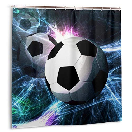 COCB-14 Resistant Fabric Shower Curtain, 72 by 72