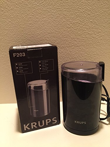 Krups Fast Touch Coffee Grinder Electric 3 Oz. Black