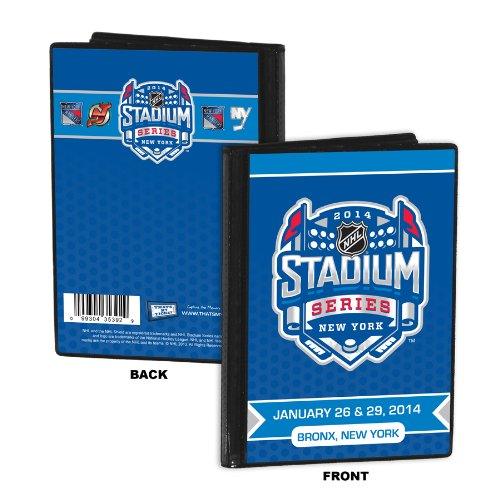 NHL New York Rangers 2014 Islanders vs Rangers Stadium Series Photo Album, 4