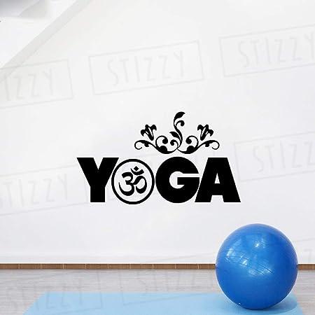 xingbuxin Tatuajes de Pared Yoga Studio Etiqueta de la Pared Om ...