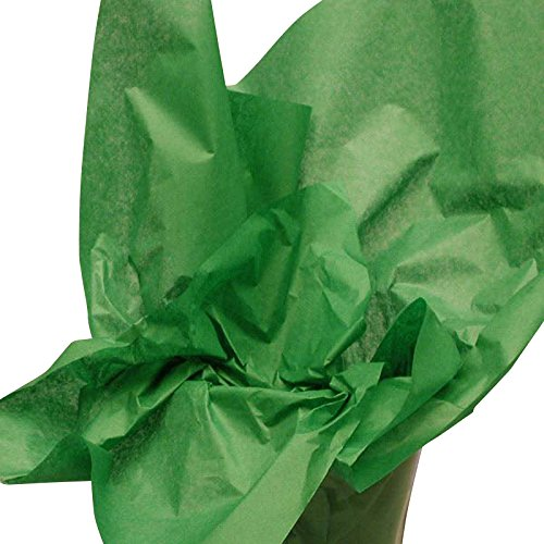 Green Waxed Tissue Paper 15