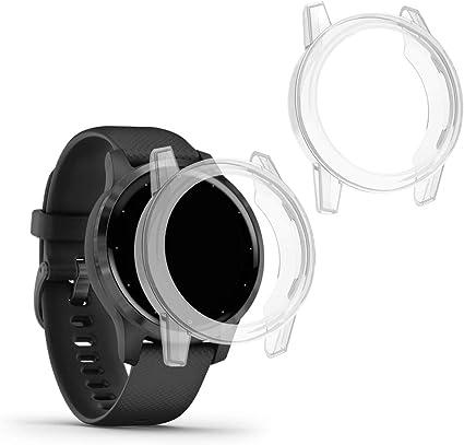 kwmobile 2 Pack de Fundas Compatible con Fitness Tracker Garmin ...