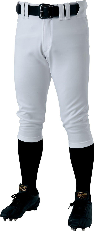 ZETT(ゼット) 野球用 プロステイタス ユニフォーム ショートフィット パンツ BU518CP B01NCW8A4I 2XO|ホワイト(1100) ホワイト(1100) 2XO