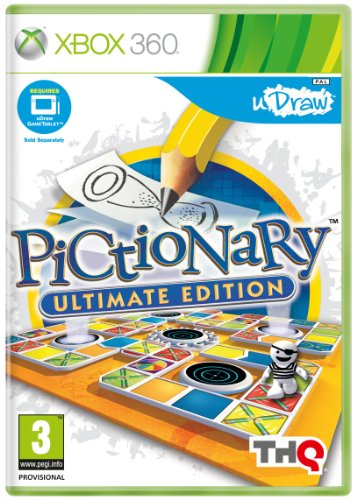 THQ Pictionary: Ultimate Edition - Udraw (Xbox - Xbox 360 Udraw Games