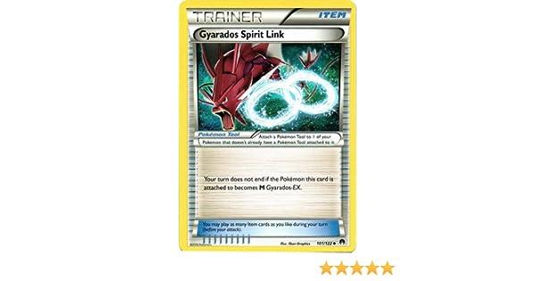 Gyarados Spirit Link 101//122 BREAKpoint 2016 Uncommon Pokemon Trainer Card