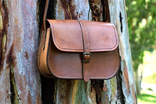 Baguette cross body unisex leather bag / Handmade leather bag / Handstitched leather bag / Baguette Bag