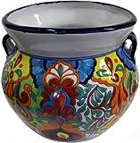 Medium Size Rainbow Talavera Ceramic Pot Review