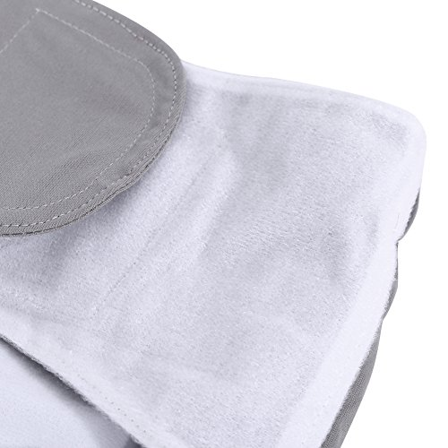 Teen / Adults Cloth Diapers, Adjustable Washable Dual Opening Pocket Reusable Leakfree Insert for Incontinence Care by Yosoo (Image #6)