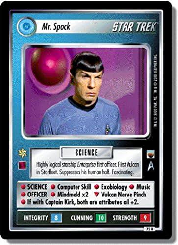Star Trek CCG TwT Trouble with Tribbles Starship Enterprise 108R
