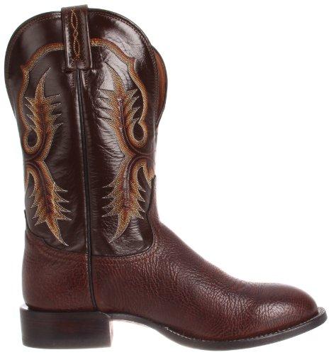 ... Tony Lama Boots Menns Skuld Ct2032 Boot Sjokolade Krympet Skulder / Espresso  Vegas