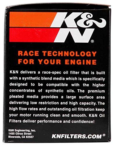 K&N KN-128 Kawasaki High Performance Oil Filter by K&N (Image #7)
