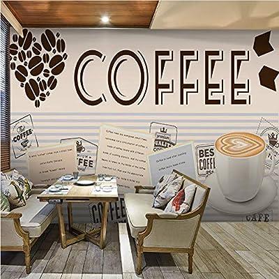 Wiwhy Murales De Papel Tapiz 3D Personalizados Café Foto Mural ...