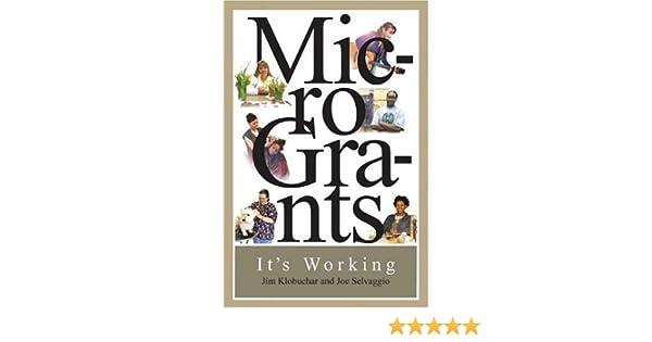 microgrants its working