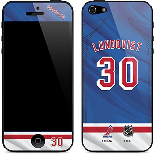 Amazon Com Skinit New York Rangers 30 Henrik Lundqvist Iphone 5 5s