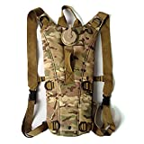 Hydration Pack Backpack with 3L Water Bladder, Water Rucksack Drinking Bag Pouch for Cycling Bicycle Bike Hiking Travel Climbing and Other Outdoor Sports