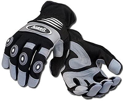 Anti-Vibration Gloves, Black, XL, PR